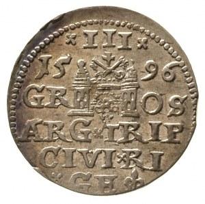 trojak 1596, Ryga, Gerbaszewski 19
