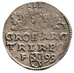 trojak 1599, Wschowa, lekko niedobity