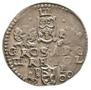 trojak 1600, Lublin, drobna wada bicia