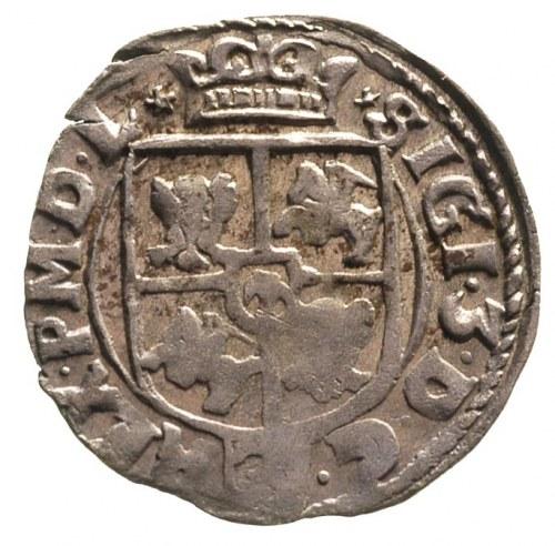 półtorak 1615, Kraków, ładna tęczowa patyna