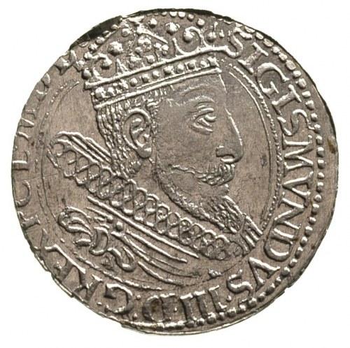 grosz 1604, Kraków, trochę niecentrycznie wybity