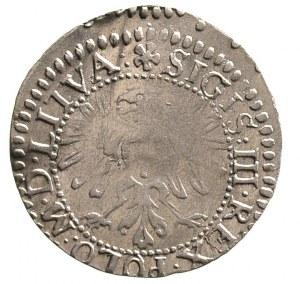 grosz 1611, Wilno, na awersie napis SIGIS III REX POLO ...