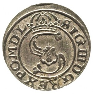 szeląg 1627, Wilno, Ivanauskas 926:185, piękny
