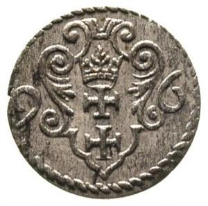 denar 1596, Gdańsk