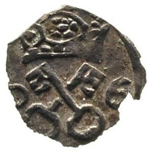 denar 1606, Poznań, T. 4, nieco wyszczerbiony krążek al...