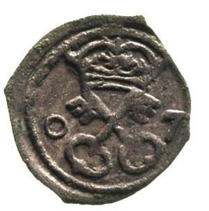 denar 1607, Poznań, T. 5, patyna
