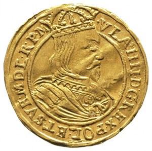 dukat 1635, Toruń, Aw: Popiersie króla w prawo i napis ...