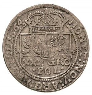 tymf 1664, Bydgoszcz, ładny egzemplarz, patyna