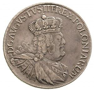talar 1755, Lipsk, 28.48 g, Schnee popiersie typ B, tar...