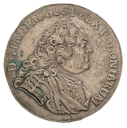 1/3 talara (1/2 guldena) 1752, Drezno, Merseb. 1756