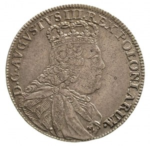tymf 1753, Lipsk, Merseb. 1776, patyna