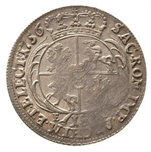 ort 1756, Lipsk, Merseb. 1782, patyna