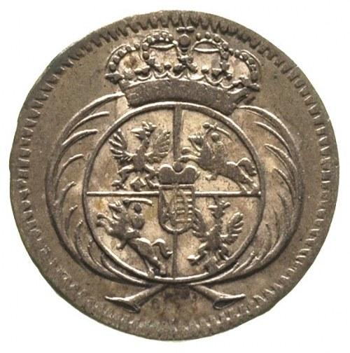 półtorak 1753, Lipsk, Merseb. 1788, ładnie zachowany i ...
