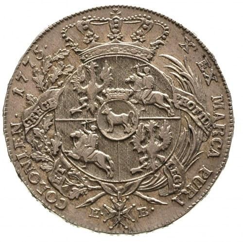 talar 1775, Warszawa, odmiana z napisem LITU, 27.92 g, ...