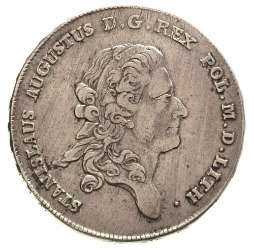 talar 1777, Warszawa, odmiana napisu LITH, 27.96 g, Pla...