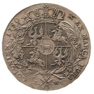 talar 1780, Warszawa, 28.10 g, Plage 401, Dav. 1618, T....