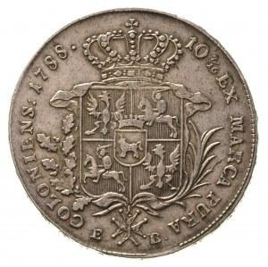 talar 1788, Warszawa, odmiana z dłuższym wieńcem, 27.39...