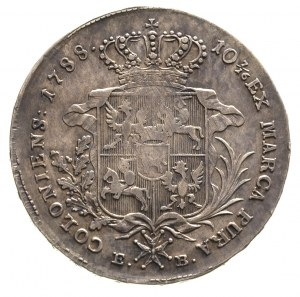 talar 1788, Warszawa, odmiana z krótszym wieńcem, Plage...