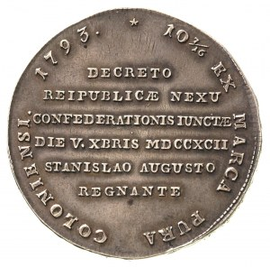 talar 1793, Warszawa, talar historyczny targowicki, 27,...