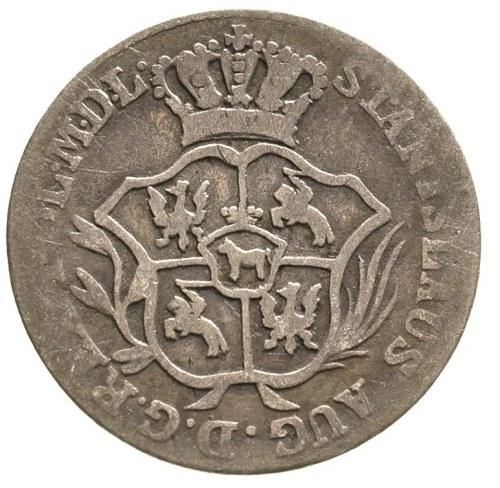 2 grosze srebrne (półzłotek) 1785, Warszawa, Plage 270....