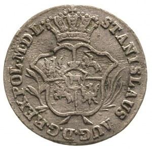 2 grosze srebrne (półzłotek) 1786, Warszawa, Plage 271,...