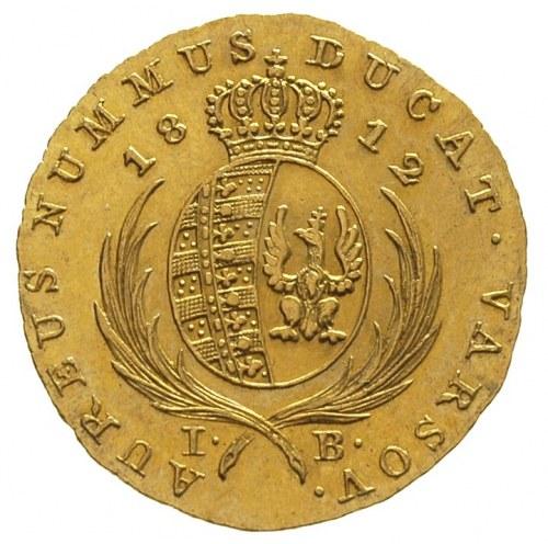 dukat 1812, Warszawa, Plage 117, Fr. 68, złoto 3,48 g, ...
