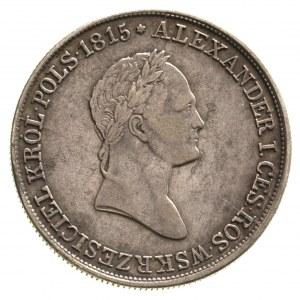 5 złotych 1831, Warszawa, Plage 40, Bitkin 988, patyna