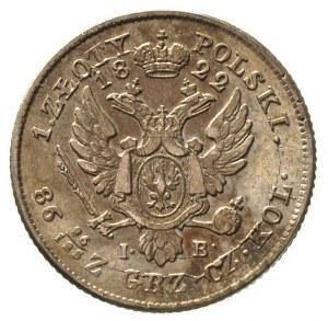 1 złoty 1822, Warszawa, Plage 66, Bitkin 845 R, rzadszy...