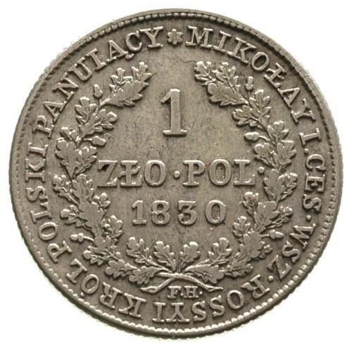 1 złoty 1830, Warszawa, Plage 73, Bitkin 999