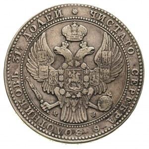 1 1/2 rubla = 10 złotych 1836, Warszawa, małe cyfry dat...
