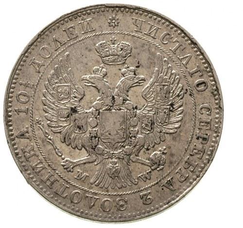 połtina 1843, Warszawa, ogon orła wachlarzowaty, wstążk...