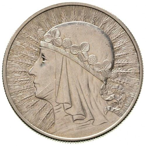10 złotych 1932, Anglia, Głowa Kobiety, Parchimowicz 12...