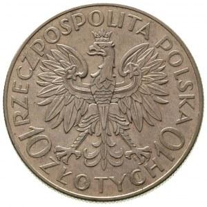10 złotych 1933, Warszawa, Jan III Sobieski, Parchimowi...