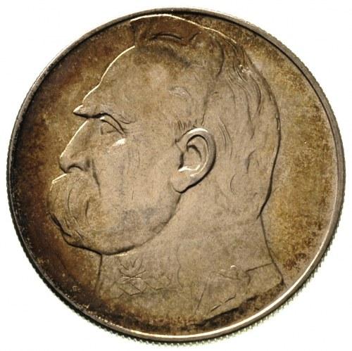 10 złotych 1936, Warszawa, Józef Piłsudski, Parchimowic...