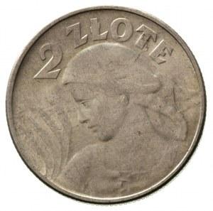 2 złote 1924, Filadelfia, \odwrotka, Parchimowicz 109 c...