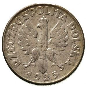 2 złote 1925, Filadelfia, bez kropki po dacie, Parchimo...