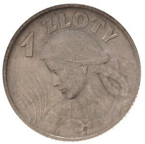 1 złoty 1924, Paryż, Parchimowicz 107 a, moneta w pudeł...
