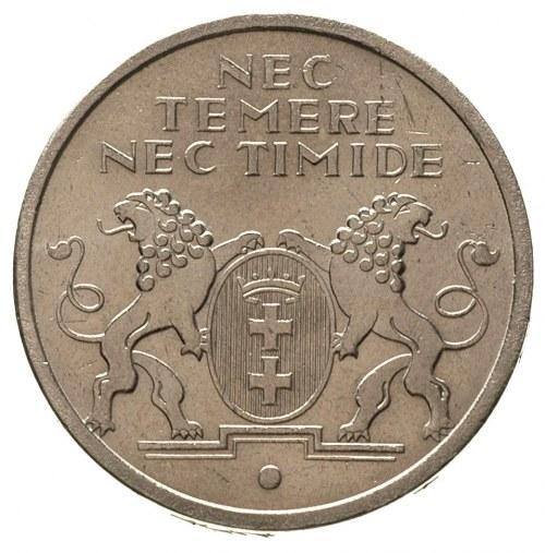 5 guldenów 1935, Berlin, Koga, Parchimowicz 68, bardzo ...