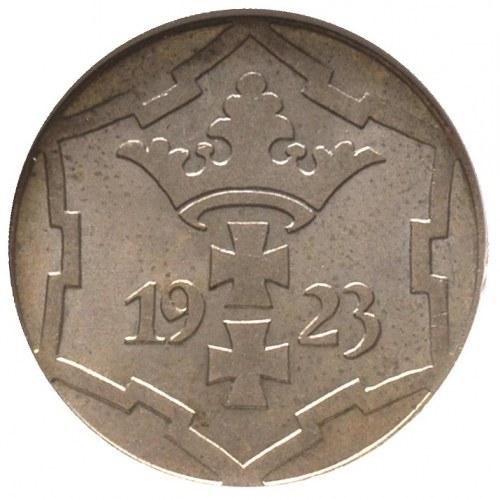 10 fenigów 1923, Berlin, Parchimowicz 57 a, moneta w pu...
