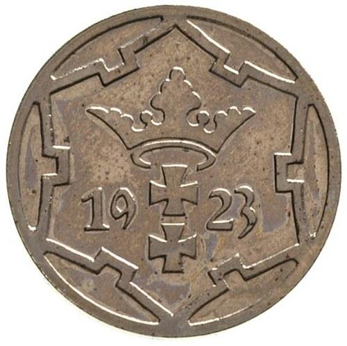 5 fenigów 1923, Berlin, Parchimowicz 55.c, rzadkie, mon...