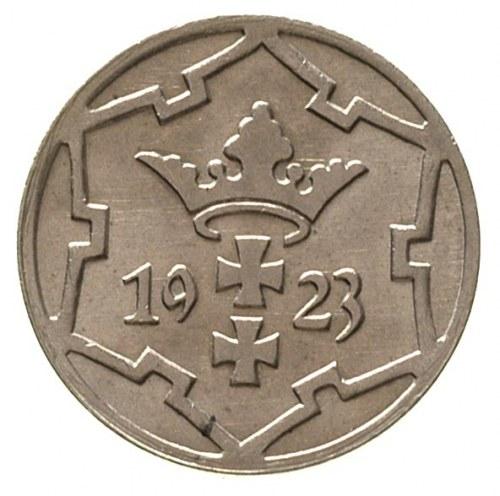 5 fenigów 1923, Berlin, Parchimowicz 55 a, piękny egzem...