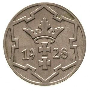 5 fenigów 1928, Berlin, Parchimowicz 55 b, rzadszy rocz...