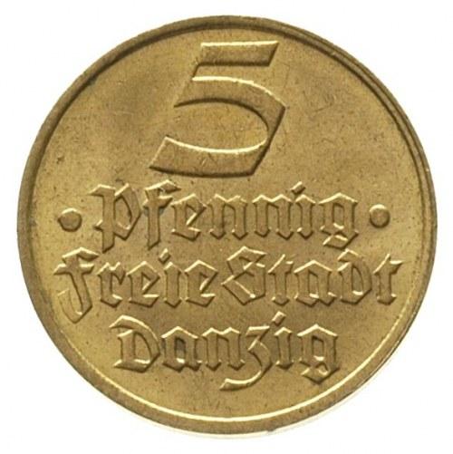 5 fenigów, 1932, Berlin, Flądra, Parchimowicz 56, bardz...