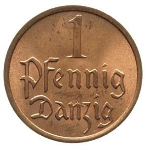 1 fenig 1937, Berlin, Parchimowicz 53 e, wyśmienity egz...