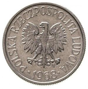 50 groszy 1968, Warszawa, Parchimowicz 210 d, rzadkie w...