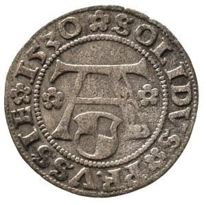 szeląg 1530, Królewiec, Bahr. 1128, Neumann 48, patyna