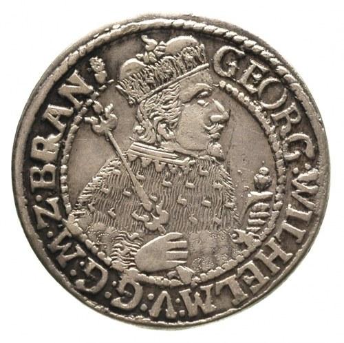 ort 1624, Królewiec, na końcu napisu znak menniczy, Neu...