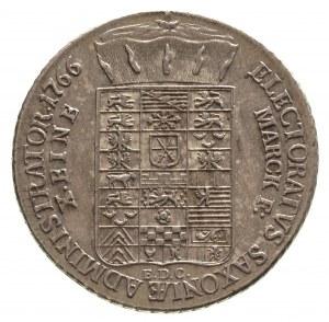 talar 1766, Lipsk, 27.85 g, Schnee 1055, Dav. 2678, na ...