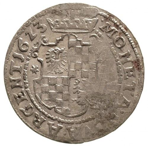 24 krajcary 1623, mennica nieokreślona, data 16Z3, F.u....