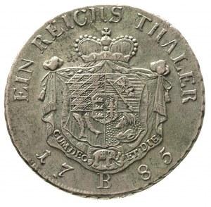 talar 1785, Wrocław, litera K pod popiersiem, F.u.S. 24...